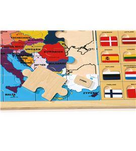 """Puzle con marco """"europa"""" con banderas - 8149"""
