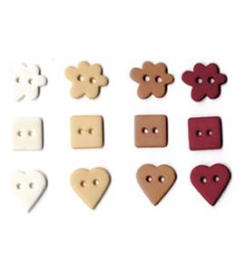 Set de botones - amor - UBBOA14