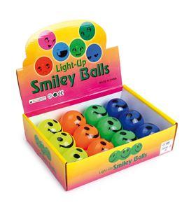 """Display pelotas de goma """"caras brillantes"""" - 8382"""
