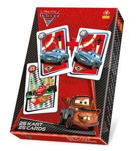 """Juego de las parejas """"cars"""" - display con 20 juegos de cartas - 8488"""