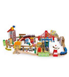 """Tren de madera """"puerto"""" - 8553"""
