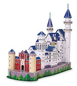 Puzle 3d castillo de neuschwanstein - 8919