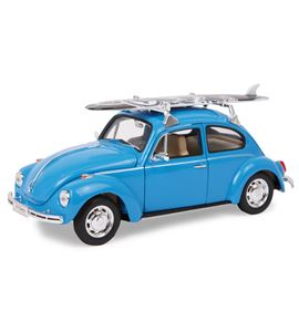 "Coche modelo ""vw beetle con tabla de surf"" - 9318"