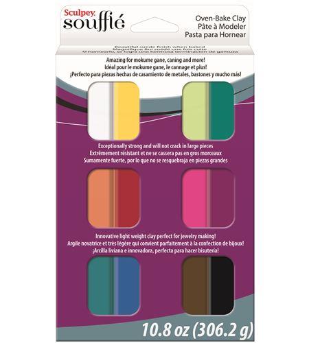 Estuche soufflé - 12 colores de 25gr. - SUMP0750