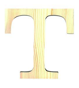 Letra madera pequeña t - 14001100