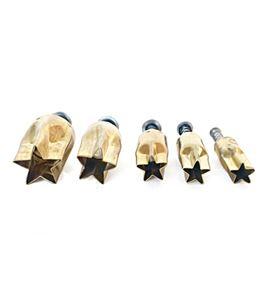 Set de cortadores para arcilla - estrella - PCSST (2)