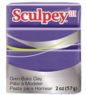 Sculpey iii - purple 57gr.