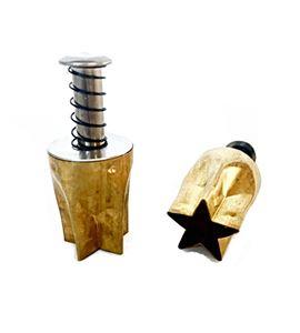 Cortador para arcilla - estrella 1,9cm. - PCBST