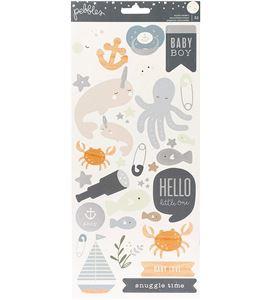 Set de stickers - baby boy - 732739