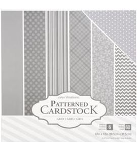 Pack de papel-cartulina - gris - 379547