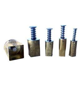 Set de cortadores para arcilla - cuadrado - PCSSQ
