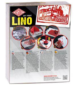 Set de 10 láminas de linóleo 75x75mm - LINO 10 PACK '17 COPY