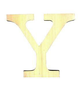 Letra madera grande y - 14001131