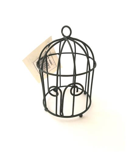 Mini jaula metálica para decoración de fotos - 14020011