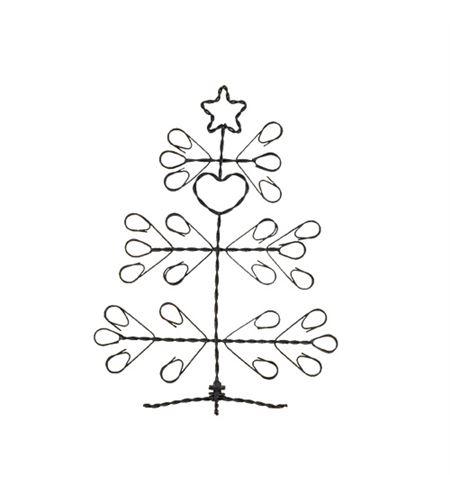 Árbol de navidad metálico tl - 14020006