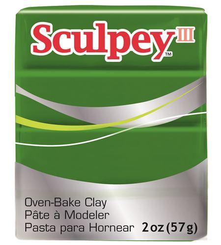 Sculpey iii - leaf green 57gr. - 3322
