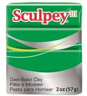 Sculpey iii - emerald 57gr.