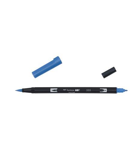 Tombow dual brush-cobalt blue - ABT_535_OPEN
