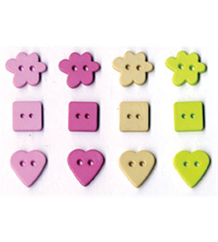 Set de botones - girl - UBBOA24