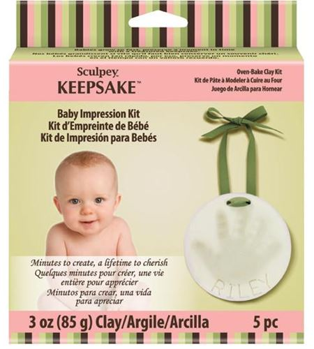 Kit de arcilla para mano de bebé - K3 4002