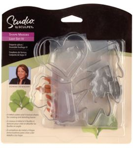Set de cortadores - hojas ginkgo biloba - ST1338