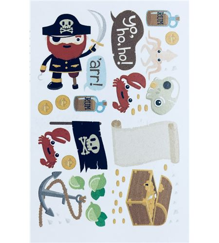 Vinilo de pared - piratas - 22004002