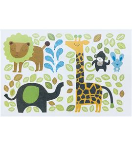 Vinilo de pared - animales de la selva - 22004004