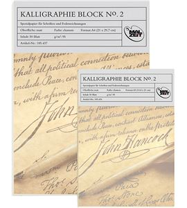 Bloc para caligrafía - a4 - AM-185436-437