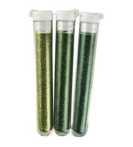 Set de purpurina en polvo - verde - 3940400-01_PF