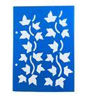Plantilla / stencil - hojas hiedra