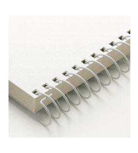Set de espirales blancos - 9mm. - VARC09003