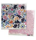 Papel de scrapbook - gaudí rosa