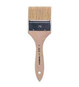 Pincel paletina pelo de cerda blanca china 25mm - 576802