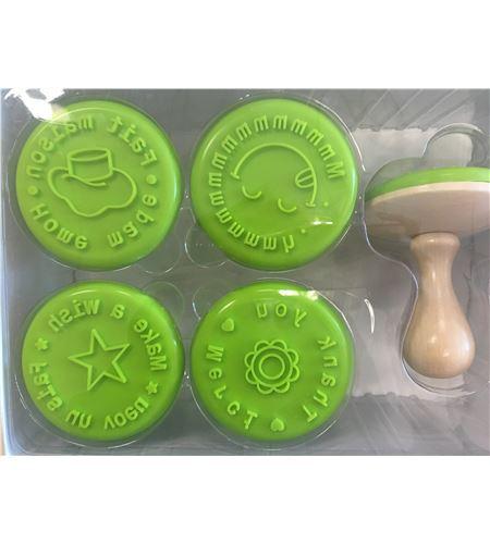Pack de sellos para decorar galletas - 23005001-1