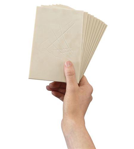 Pack de hojas de carvado softcut - 7,5x7,5cm. - 3.0-SC1 (2)