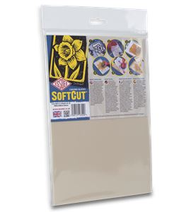 Pack de 2 hojas de carvado softcut - 30x20cm. - 3.0-SC4-2