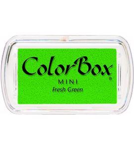 Tampón de tinta mini colorbox - fresh green - CL74022