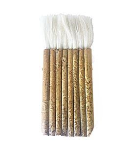 Pincel de pelo de cabra y mango de bambú nº8 - 577147