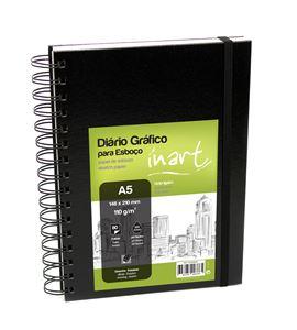 Bloc de papel para dibujo y sketch - a5 - 1550399052