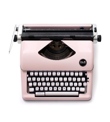 Máquina de escribir retro - pink / rosa - 310297 (2)