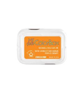 Tampón de tinta my first colorbox - orange - CL68040