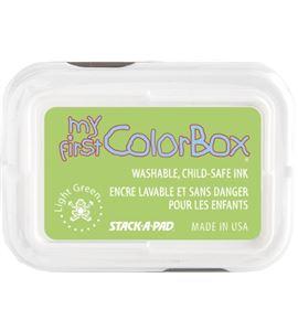 Tampón de tinta my first colorbox - light green - CL68042