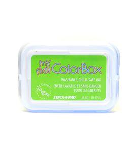 Tampón de tinta my first colorbox - lime - CL68044