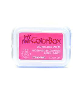 Tampón de tinta my first colorbox - hot pink - CL68047