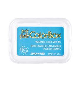 Tampón de tinta my first colorbox - blue - CL68002