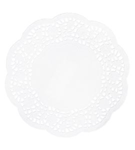 Set de papel de blonda - circular 16cm. - 68088102