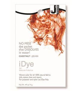 Tinte idye para fibras naturales - chestnut (marrón castaña) - JID1424 CHESTNUT