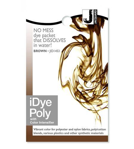 Tinte idye poly para fibras sintéticas - brown (marrón) - JID1453_IDYEPOLY_BROWN_REV12-15-14