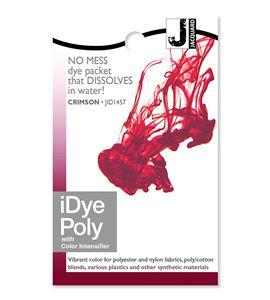 Tinte idye poly para fibras sintéticas - crimson (rojo oscuro) - JID1457_IDYEPOLY_CRIMSON_REV12-15-14