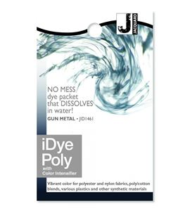 Tinte idye poly para fibras sintéticas - gun metal (gris oscuro) - JID1461_IDYEPOLY_GUN METAL_REV-12-30-14